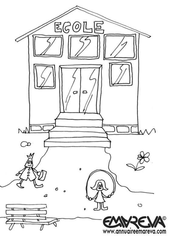 Coloriage Garderie Ecole.Coloriage Dun Cartable Dcole De Filles Dessin De Christophe