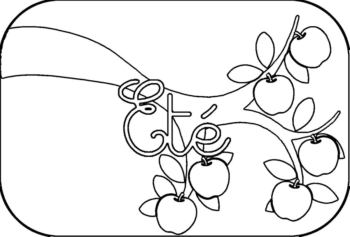 19 dessins de coloriage 4 saisons imprimer - Dessin 4 saisons ...