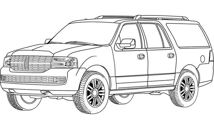 coloriage  u00c3 dessiner de 4x4 land rover
