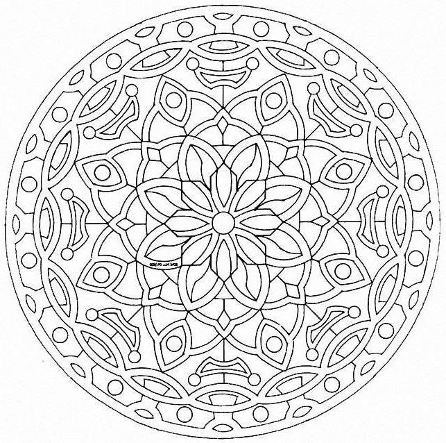 92 dessins de coloriage imprimer mandala imprimer. Black Bedroom Furniture Sets. Home Design Ideas