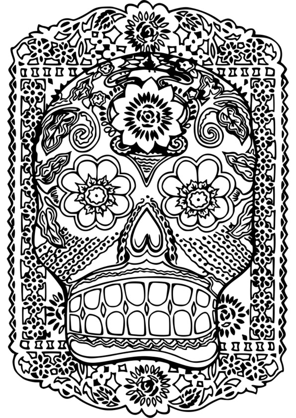 Coloriage noel adulte imprimer - Coloriage therapie ...