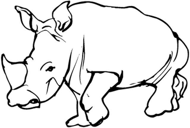 dessin à colorier conte africain