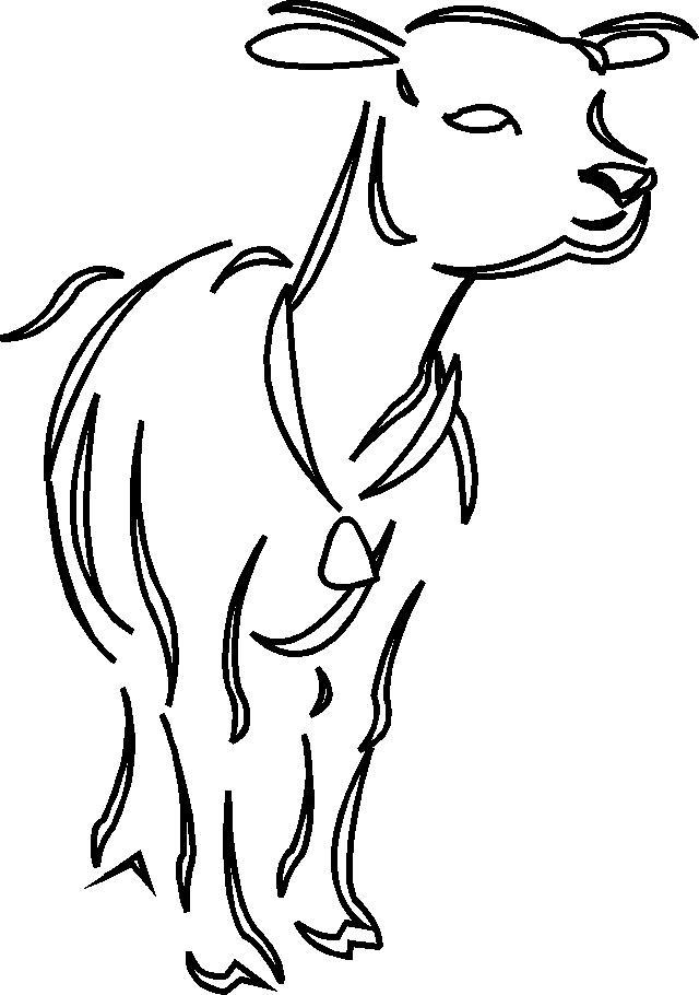 dessin agneau imprimer