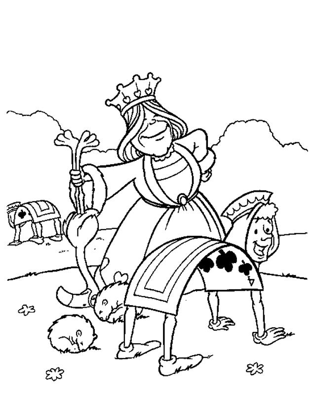 119 Dessins De Coloriage Alice Au Pays Des Merveilles A Imprimer