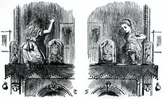 184 dessins de coloriage alice de l 39 autre c t du miroir for L autre cote du miroir