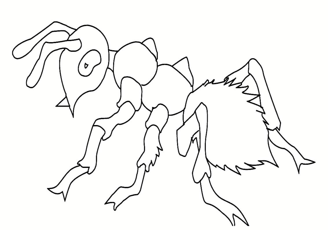 dessin � colorier de alien bazar