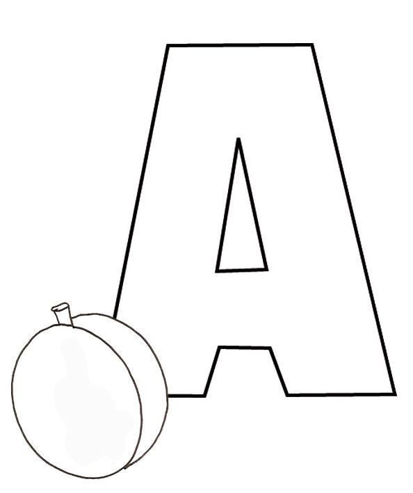 Coloriage dessiner lettre alphabet arabe - Dessiner l alphabet ...