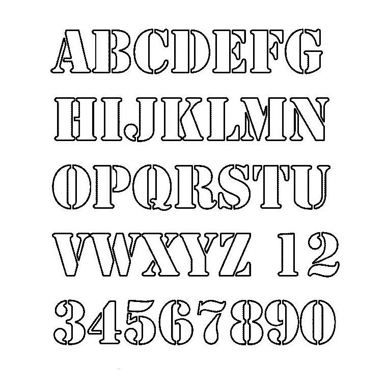 Coloriage alphabet moyen age - Alphabet majuscule a imprimer ...