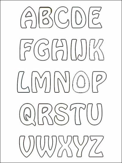 Coloriage Lettre Alphabet