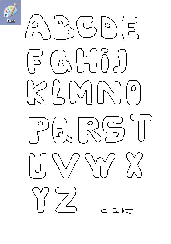 Dessin lettre alphabet colorier les enfants - Alphabet coloriage ...