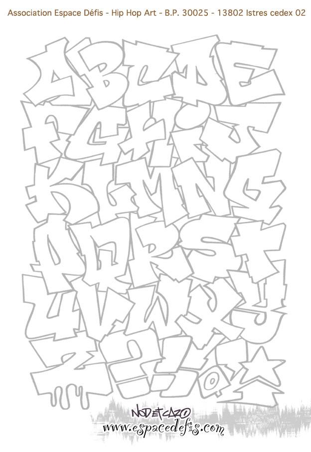 Coloriage dessiner lettre alphabet animaux - Dessiner l alphabet ...
