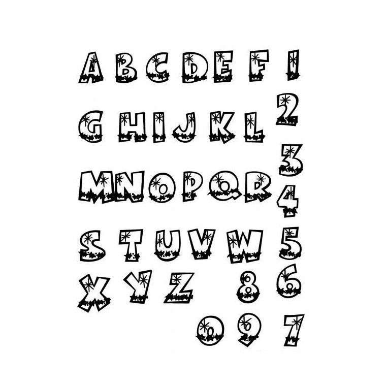 Coloriage dessiner d 39 alphabet imprimer - Dessiner l alphabet ...