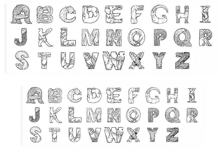 Coloriage de alphabet arabe - Dessin alphabet ...