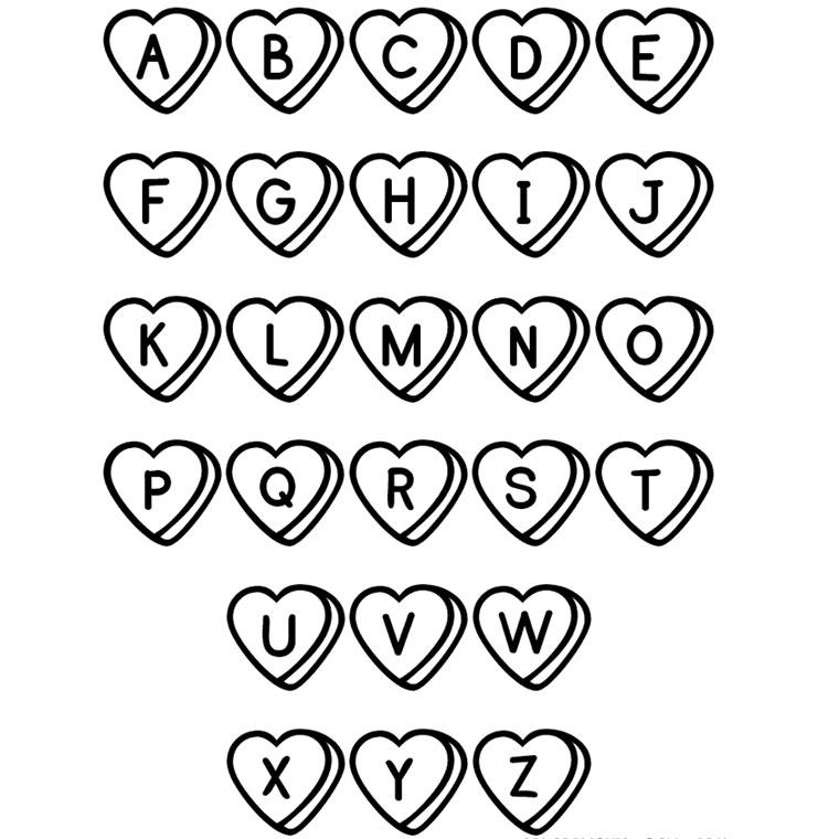 dessin � colorier alphabet chat