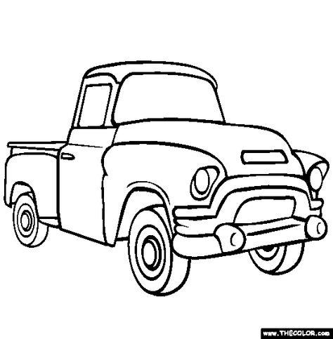dessin à colorier ambulance en ligne