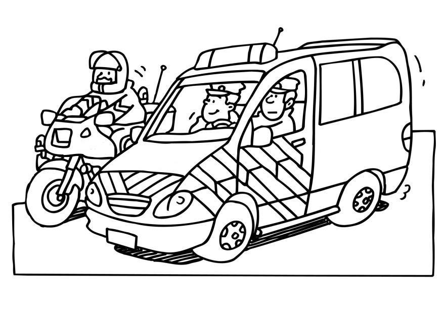 Dessin colorier imprimer ambulance - Coloriage ambulance ...
