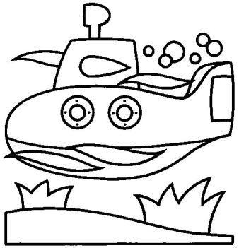 dessin à colorier voiture ambulance
