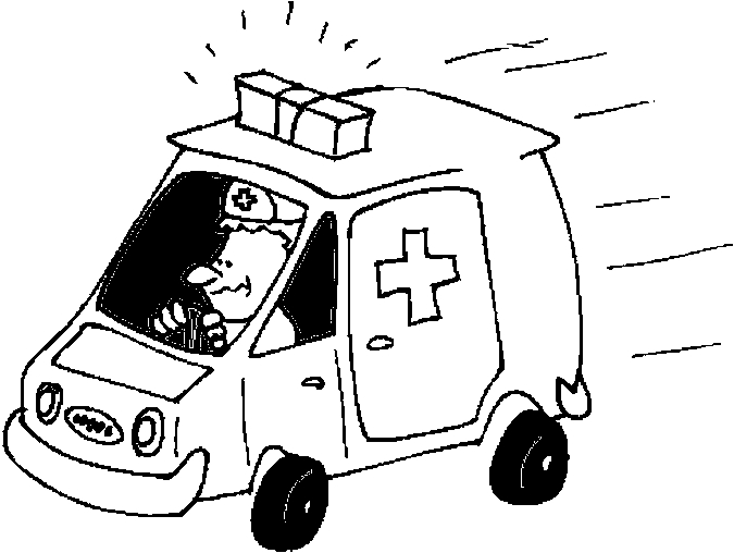 113 dessins de coloriage ambulance imprimer - Dessin ambulance ...