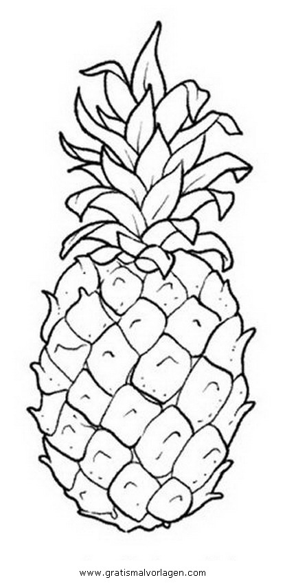ananas dessin a imprimer coloriage ananas. Black Bedroom Furniture Sets. Home Design Ideas