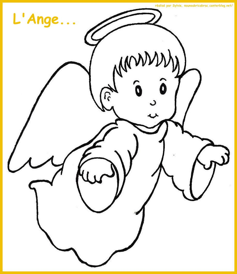 Coloriage aile ange - Dessin d ange ...