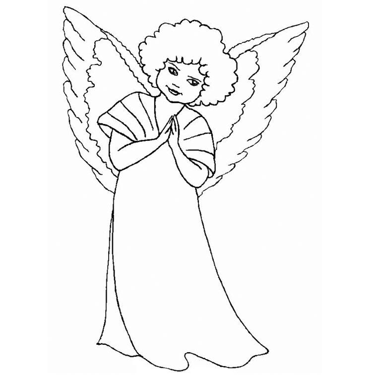dessin petit ange