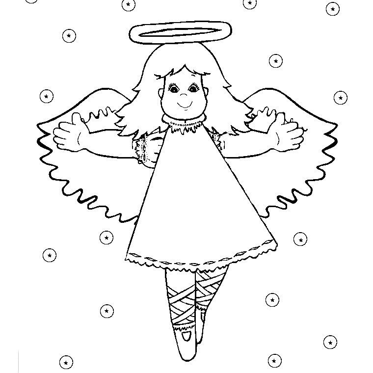 coloriage à dessiner ange et demon a imprimer