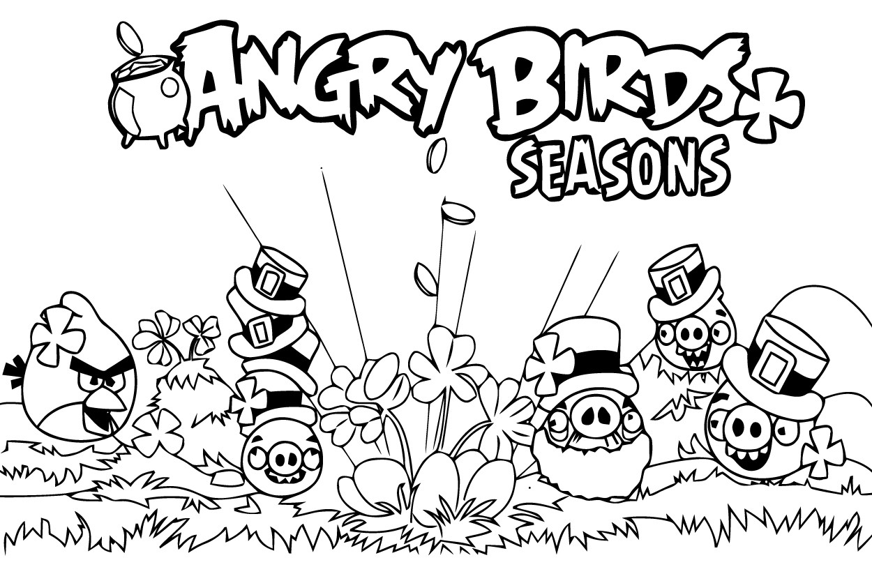 dessin � colorier angry birds halloween