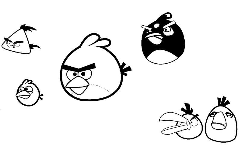cahier de dessin angry birds