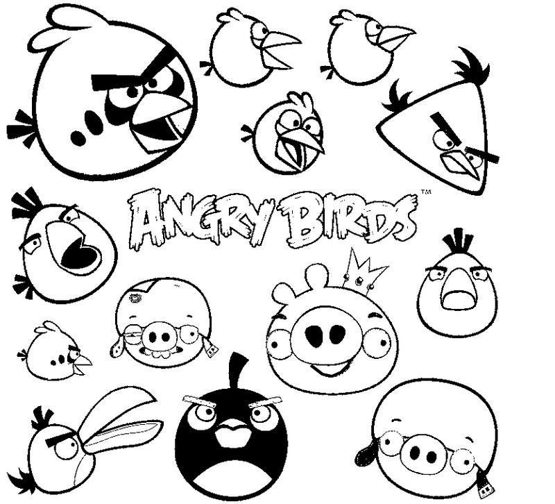 coloriage à dessiner angry birds star wars en ligne