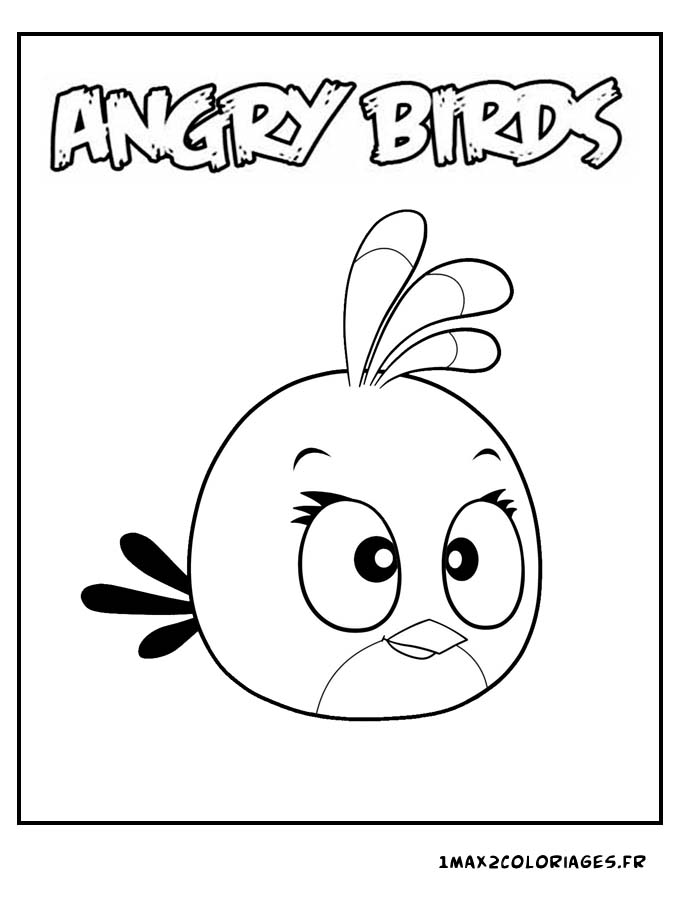 coloriage à dessiner angry birds transformers