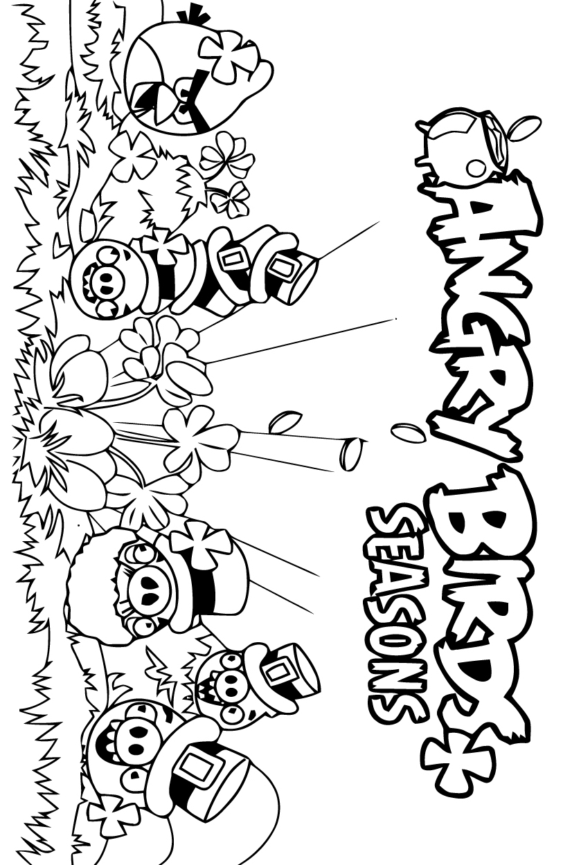 dessin angry birds stella