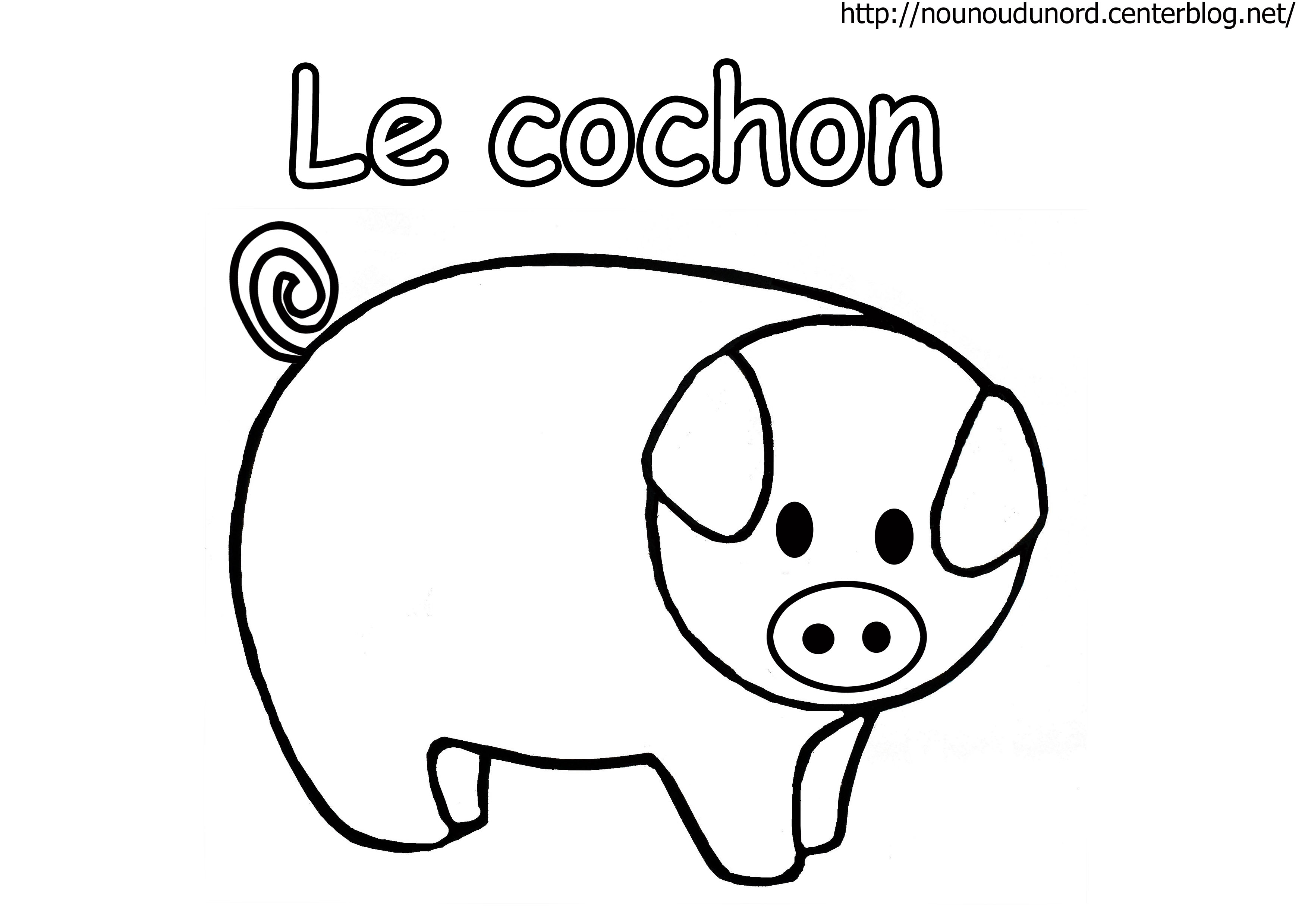 24 dessins de coloriage animaux de la ferme imprimer - Mouton a dessiner ...