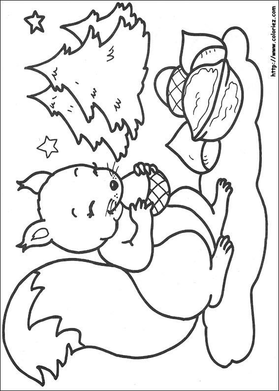 98 dessins de coloriage animaux de la foret 224 imprimer