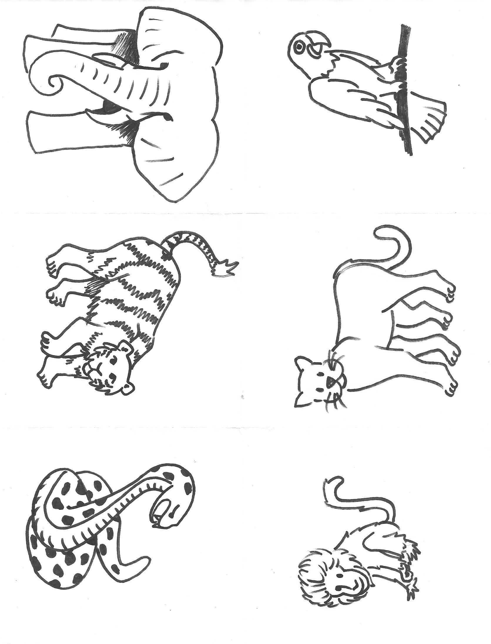 94 dessins de coloriage animaux de la jungle imprimer - Images animaux a imprimer ...