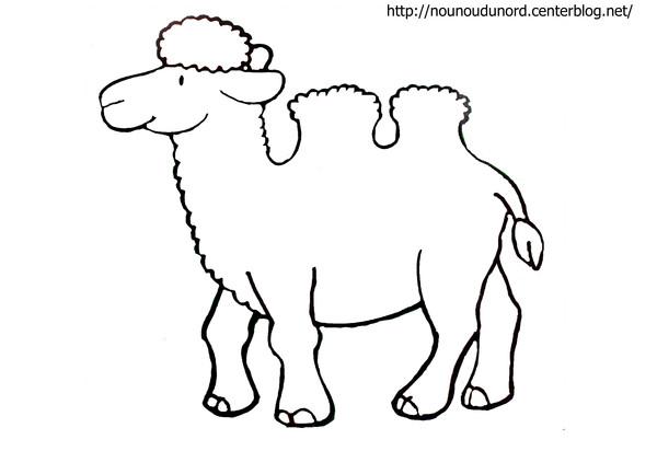 95 dessins de coloriage animaux de la savane imprimer - Dessin de chameau ...