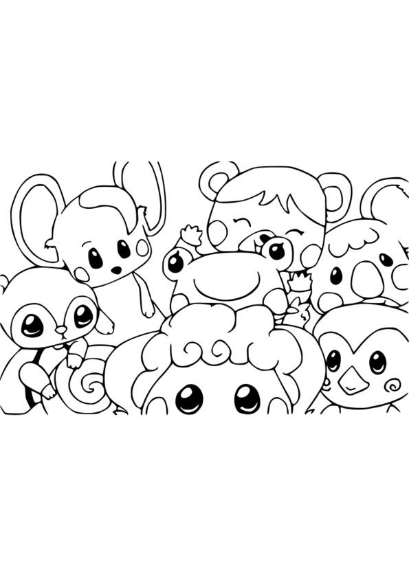 coloriage les animaux de la savane