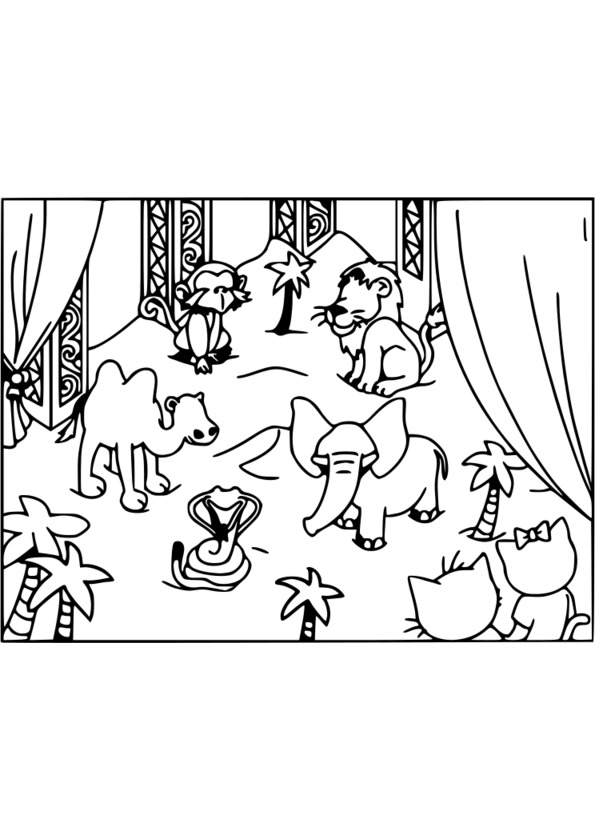 Coloriage animaux pdf - Animaux coloriage ...