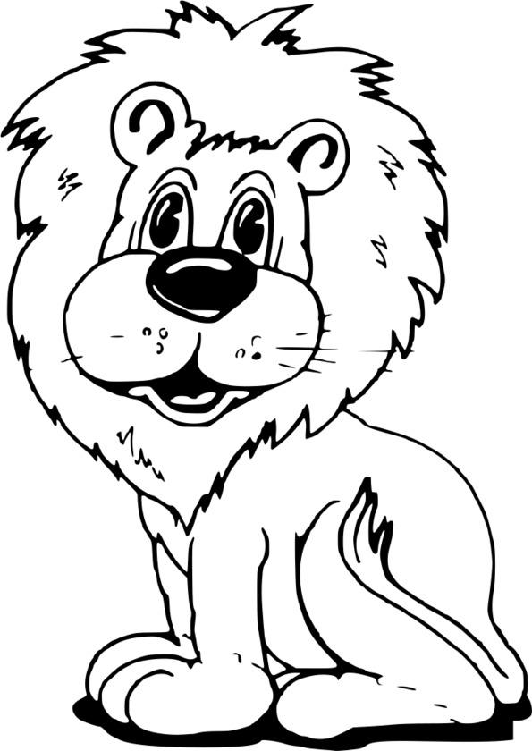 coloriage animaux à l'école