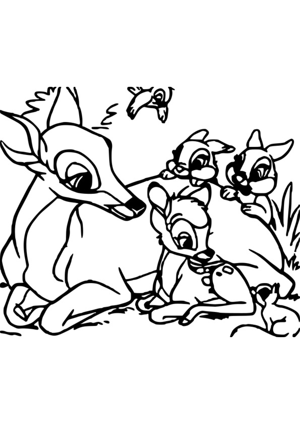 coloriage animaux � peindre