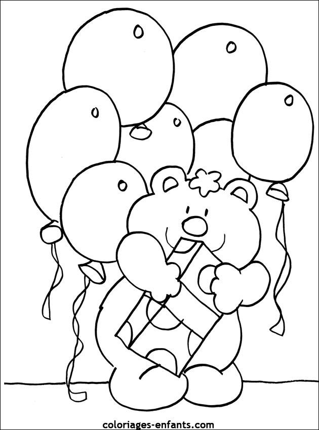 98 dessins de coloriage anniversaire 5 ans imprimer - Coloriage 5 ans a imprimer ...