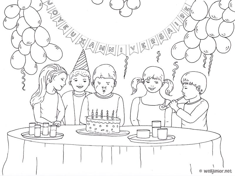 97 dessins de coloriage anniversaire 8 ans imprimer - Coloriage de anniversaire ...