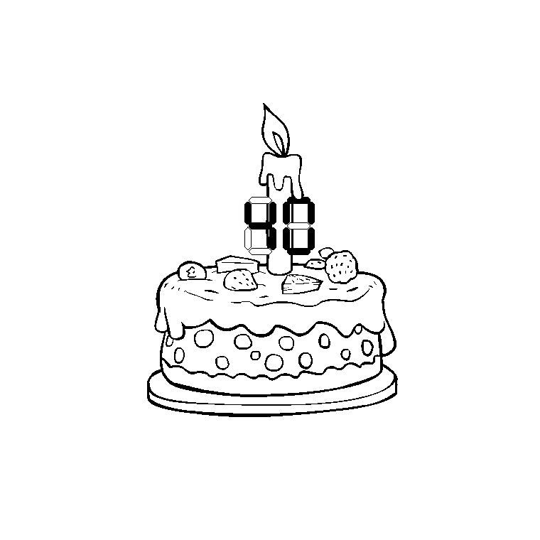 93 dessins de coloriage anniversaire maman imprimer - Coloriage de joyeux anniversaire ...