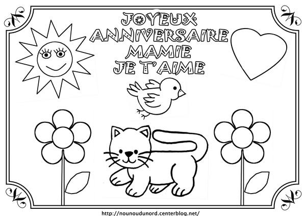 Dessin joyeux anniversaire 60 ans - Dessin pour anniversaire 60 ans ...