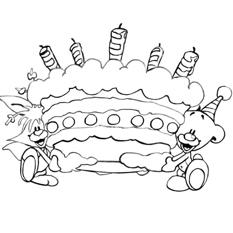 Coloriage anniversaire 9 ans fille - Dessin a imprimer anniversaire ...