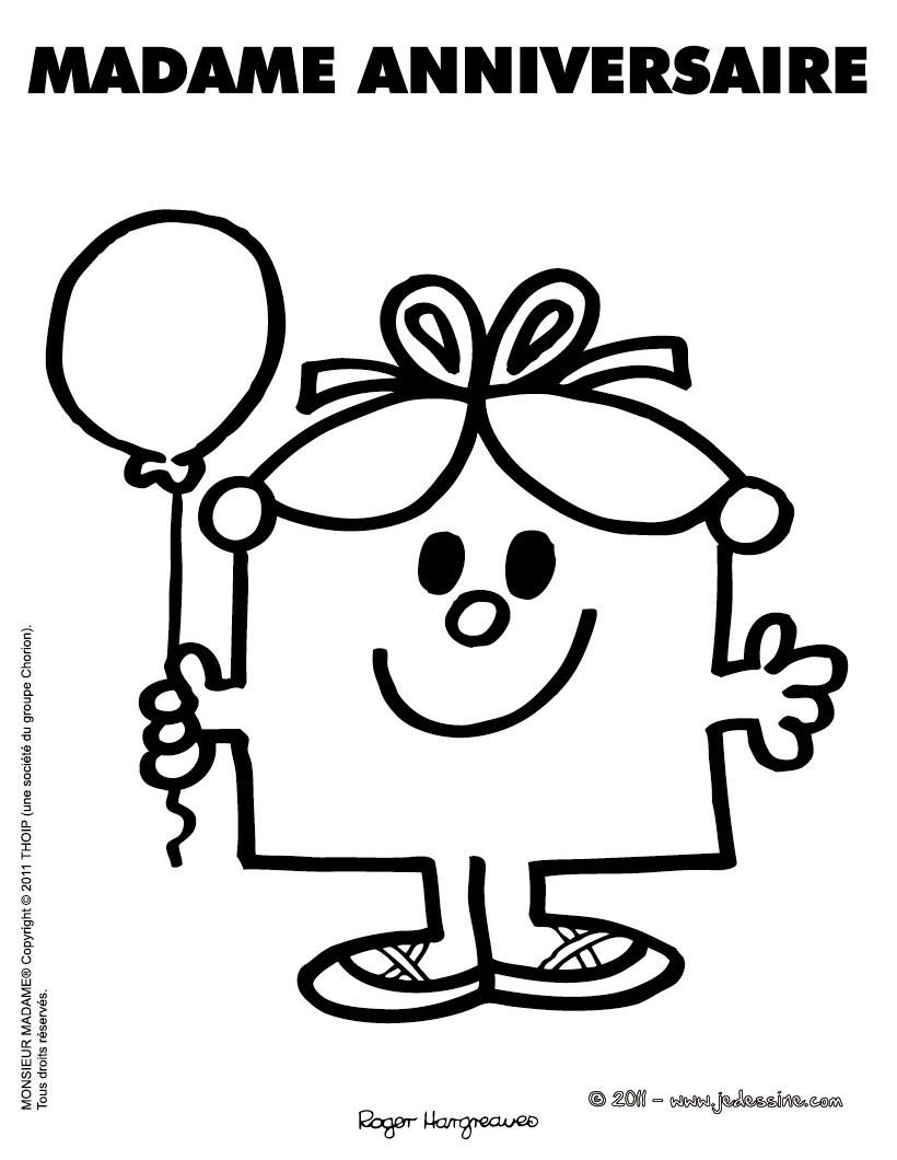 Dessin colorier anniversaire 2 ans - Dessin a imprimer anniversaire ...