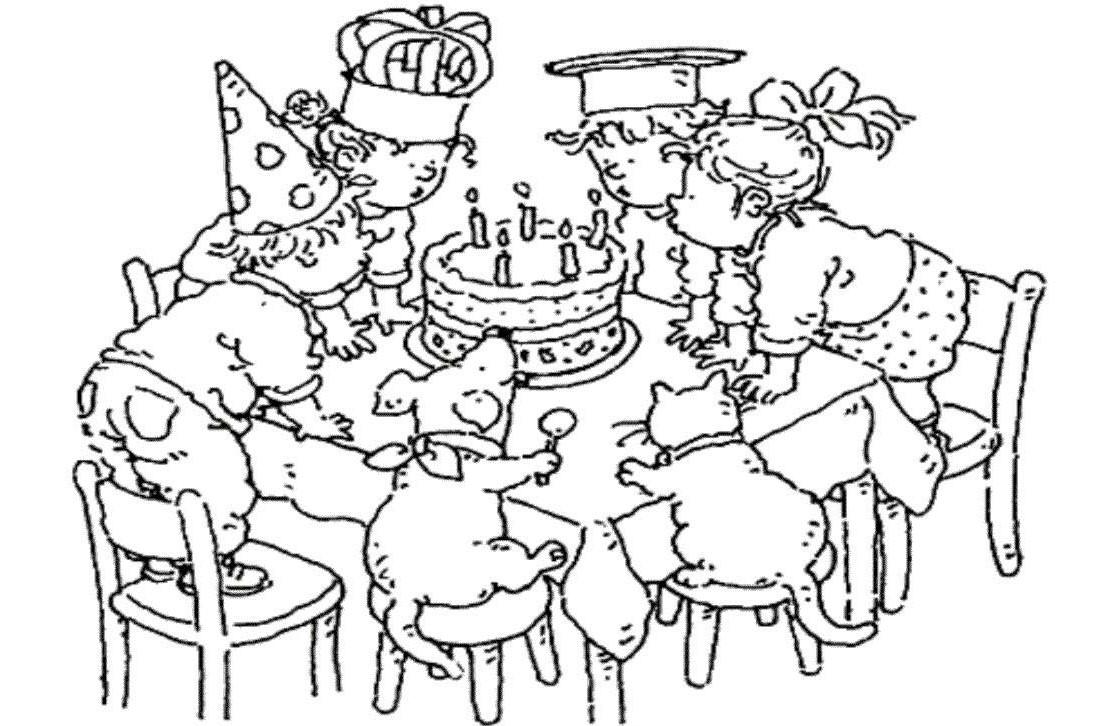 coloriage d anniversaire ƒ imprimer pour adulte