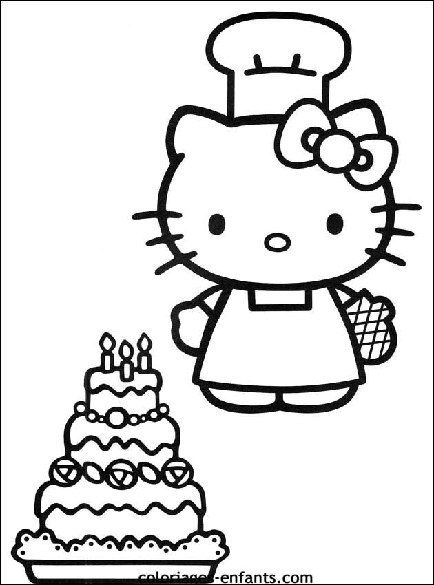 Coloriage anniversaire 5 ans - Dessin a imprimer anniversaire ...