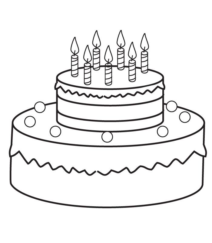 dessin gateau anniversaire | jackshite