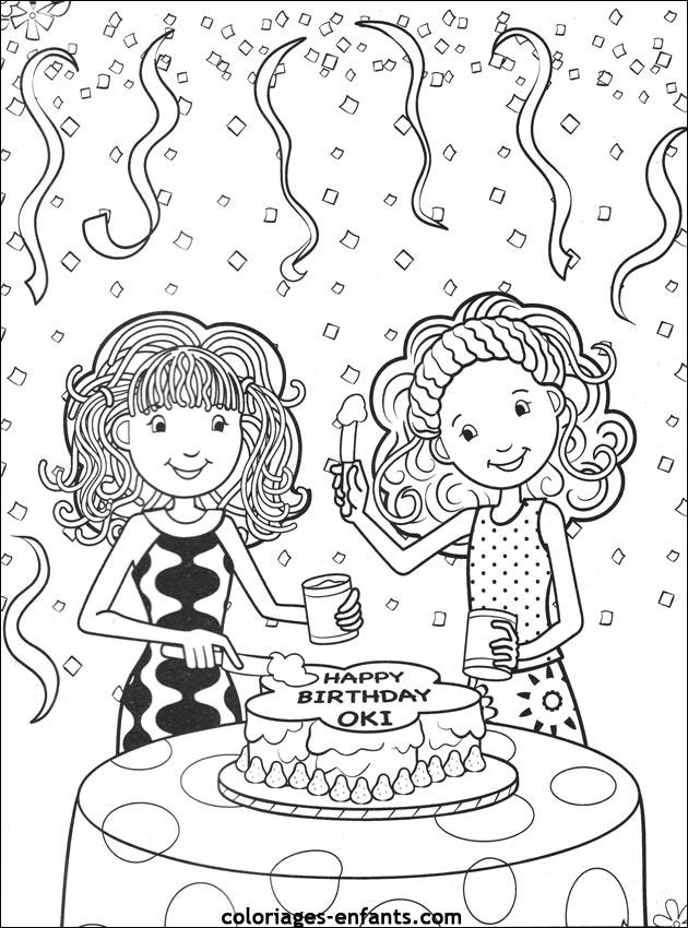 Coloriage Adulte Gateau A Imprimer.Coloriage A Dessiner D Anniversaire A Imprimer Pour Adulte