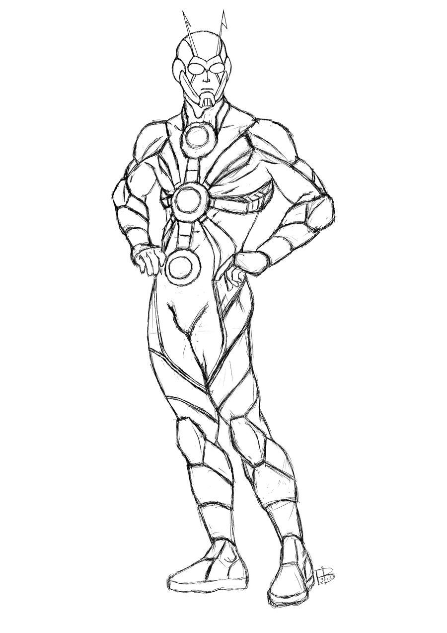 dessin ant-man